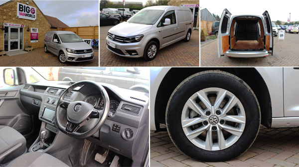 Mosaic of Volkswagen Caddy Interior and Exterior Photos