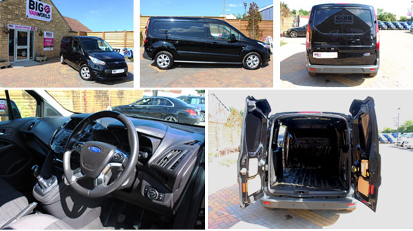 Mosaic of Ford Transit Connect Interior and Exterior Photos