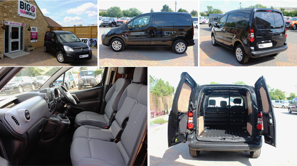 Mosaic of Citroen Berlingo Interior and Exterior Photos