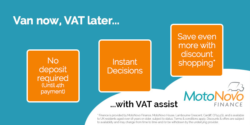 MotoNovo Finance VAT Assist product
