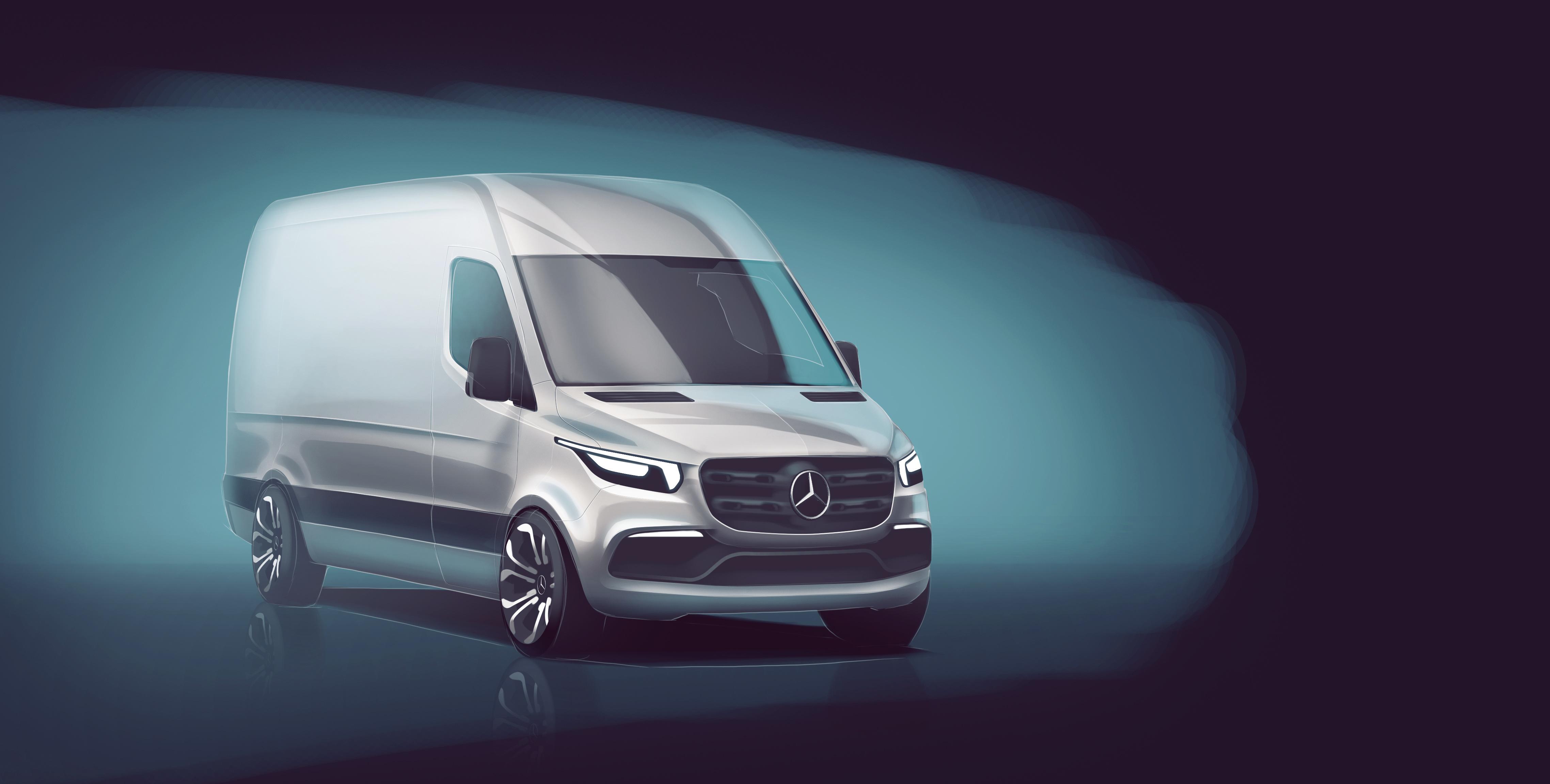 First look at Mercedes 2018 Sprinter Van