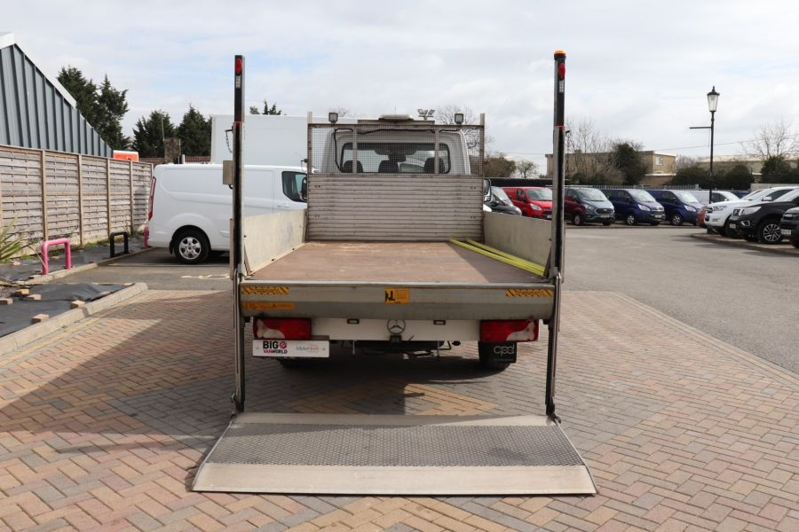 MERCEDES SPRINTER 314 CDI 140 LWB SINGLE CAB ALLOY DROPSIDE WITH TAIL LIFT  (14002) - 12361 - 36