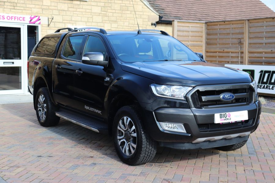 FORD RANGER WILDTRAK TDCI 200 4X4 DOUBLE CAB WITH TRUCKMAN TOP - 9555 - 3