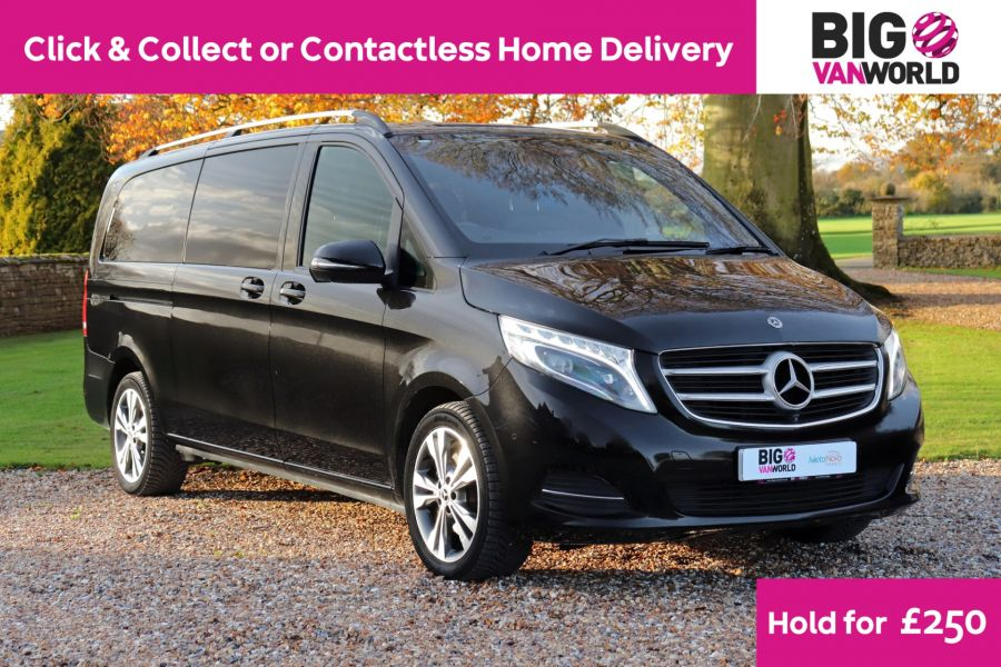MERCEDES V-CLASS V250 CDI 190 BLUETEC SPORT EXTRA LONG 8 SEATS 7G-TRONIC PLUS - 11788 - 1