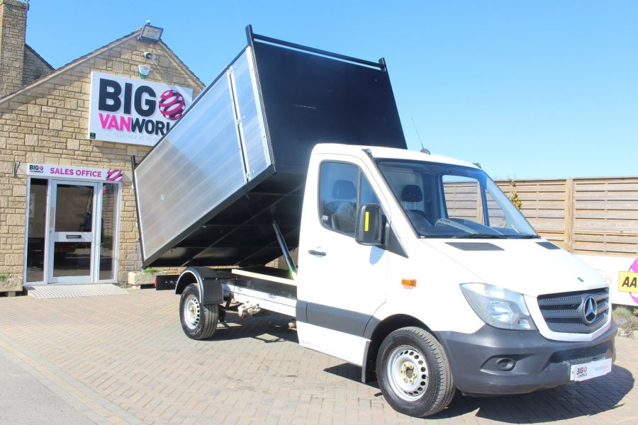 MERCEDES SPRINTER 313 CDI 129 MWB SINGLE CAB NEW BUILD ARBORIST ALLOY TIPPER - 9307 - 3