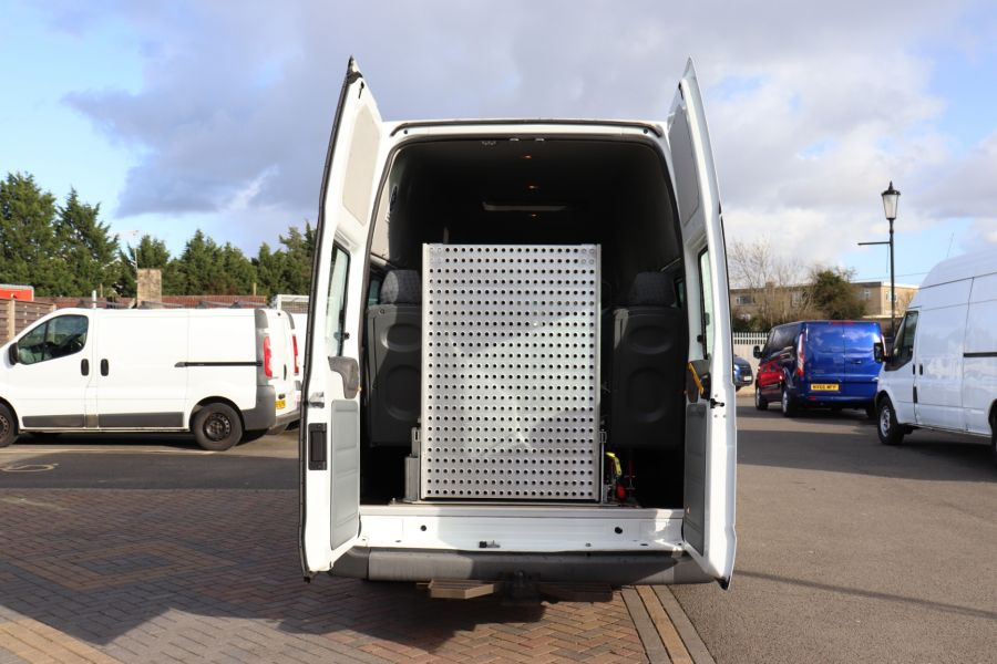 FORD TRANSIT 430 TDCI 135 EL LWB 17 SEAT BUS HIGH ROOF WITH WHEELCHAIR ACCESS RAMP DRW RWD - 10401 - 37