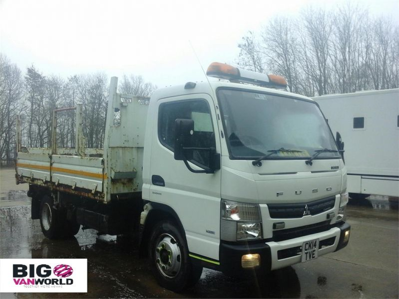 MITSUBISHI CANTER 7C15 3.0 D 148 BHP 4X2 SINGLE CAB STEEL TIPPER - 12307 - 1