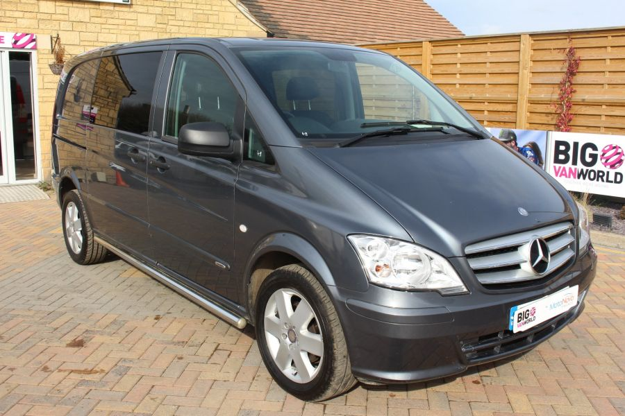 MERCEDES VITO 116 CDI 163 DUALINER COMPACT SPORT SPECIAL EDITION 5 SEAT CREW VAN - 7444 - 3