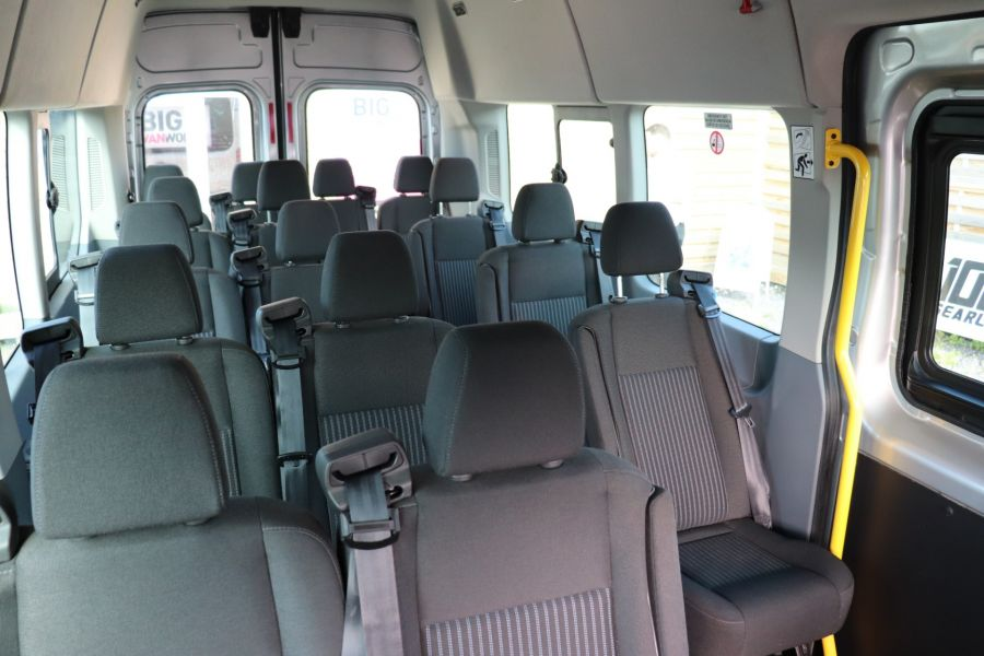 FORD TRANSIT 460 TDCI 155 L4H3 TREND 17 SEAT BUS HIGH ROOF DRW RWD  - 9893 - 40