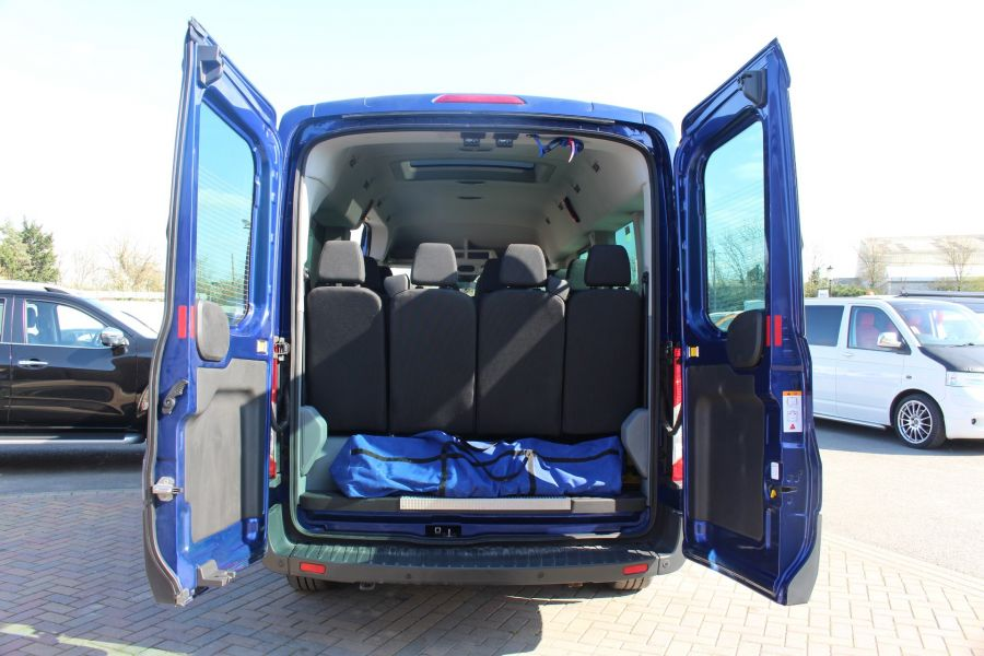 FORD TRANSIT 410 TDCI 125 L3 H2 TREND 15 SEAT BUS LWB MEDIUM ROOF RWD - 9007 - 23