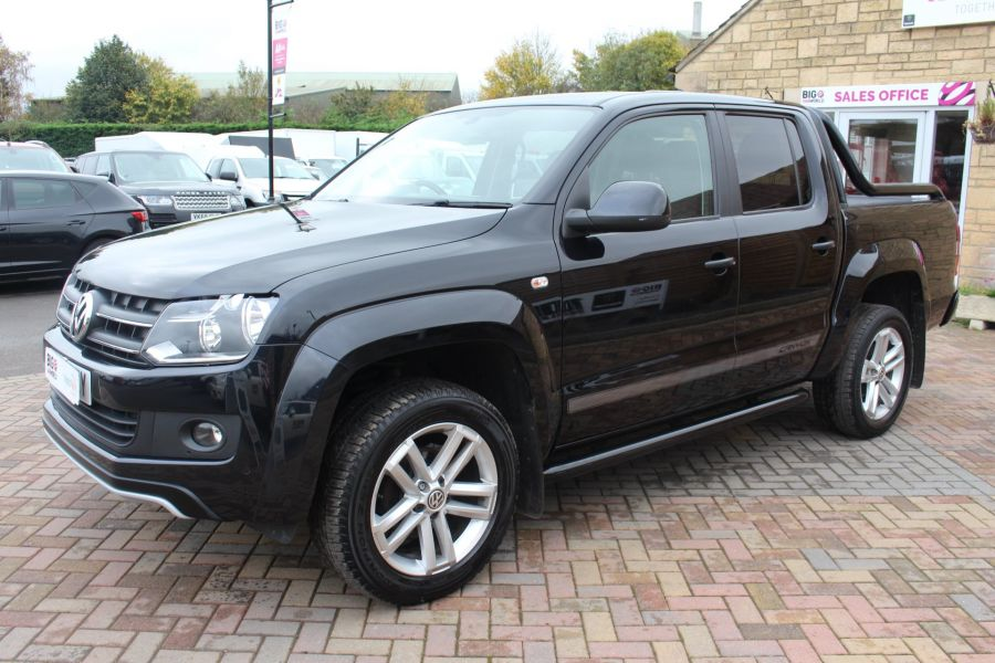 VOLKSWAGEN AMAROK A32 BITDI 180 CANYON 4MOTION SPECIAL EDITION DOUBLE CAB AUTO WITH ROLL'N'LOCK TOP - 6869 - 8