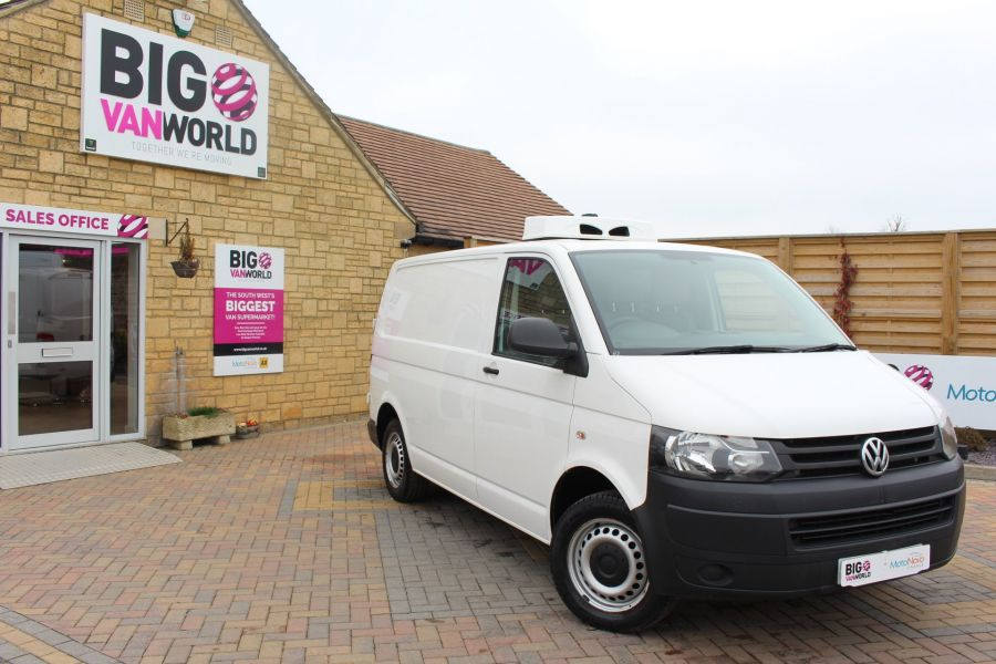 VOLKSWAGEN TRANSPORTER T26 TDI 84 STARTLINE SWB LOW ROOF FRIDGE VAN - 7334 - 2