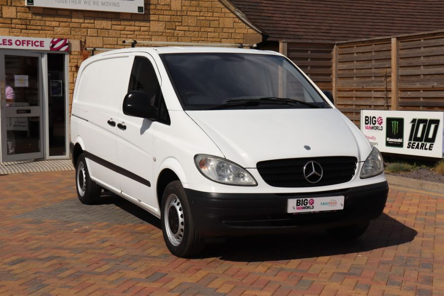 MERCEDES VITO 109 CDI 95 COMPACT SWB LOW ROOF - 10639 - 4