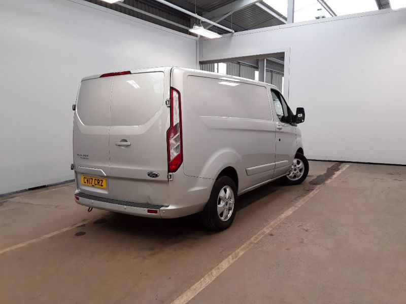FORD TRANSIT CUSTOM 270 TDCI 130 L1H1 LIMITED SWB LOW ROOF FWD - 11118 - 3