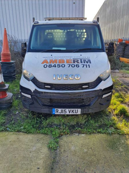IVECO DAILY 35C13 3750WB LWB SINGLE CAB 'ONE STOP' ALLOY DROPSIDE WITH TAIL LIFT - 10332 - 1