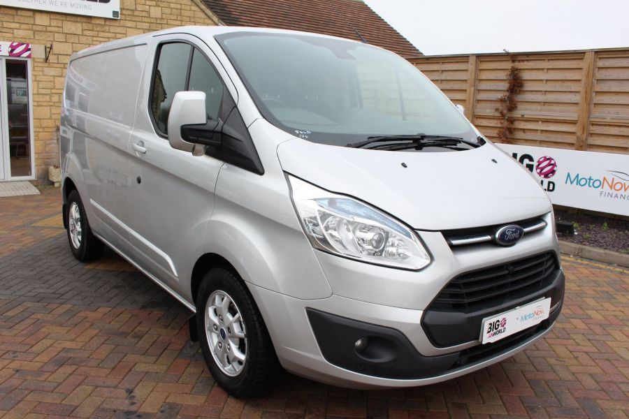 FORD TRANSIT CUSTOM 270 TDCI 155 LIMITED L1 H1 SWB LOW ROOF FWD - 8552 - 1