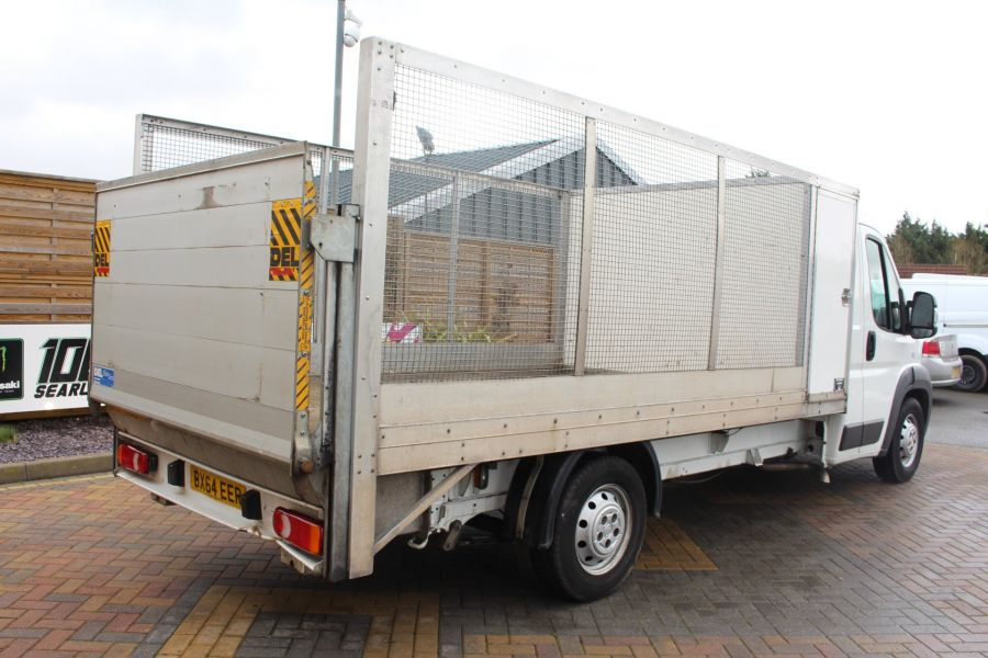 FIAT DUCATO 35 MAXI MULTIJET 130 13.5 FT ALLOY CAGED DROPSIDE WITH TAIL LIFT - 8868 - 5