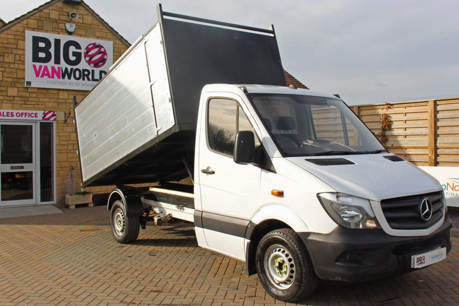 MERCEDES SPRINTER 313 CDI 129 MWB SINGLE CAB NEW BUILD ARBORIST ALLOY TIPPER - 10501 - 2