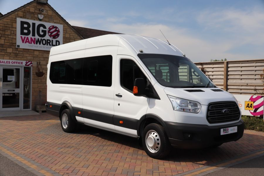 FORD TRANSIT 460 TDCI 125 L4H3 TREND 17 SEAT BUS HIGH ROOF DRW RWD - 10326 - 3