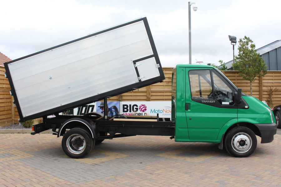 FORD TRANSIT 350 TDCI MWB SINGLE CAB NEW ALLOY ARBORIST TIPPER - 6565 - 4