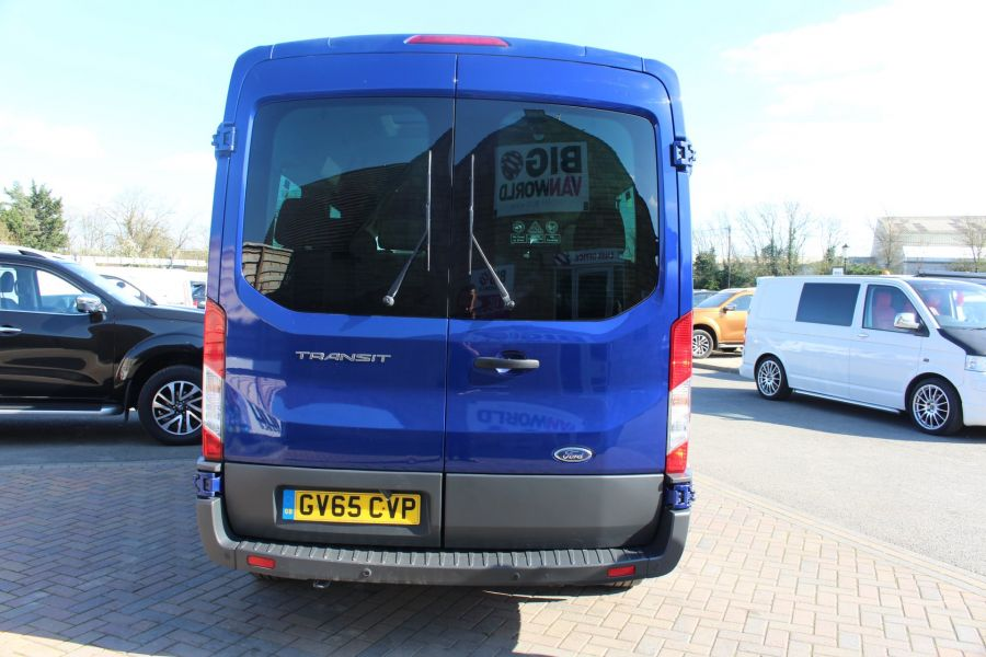 FORD TRANSIT 410 TDCI 125 L3 H2 TREND 15 SEAT BUS LWB MEDIUM ROOF RWD - 9007 - 6