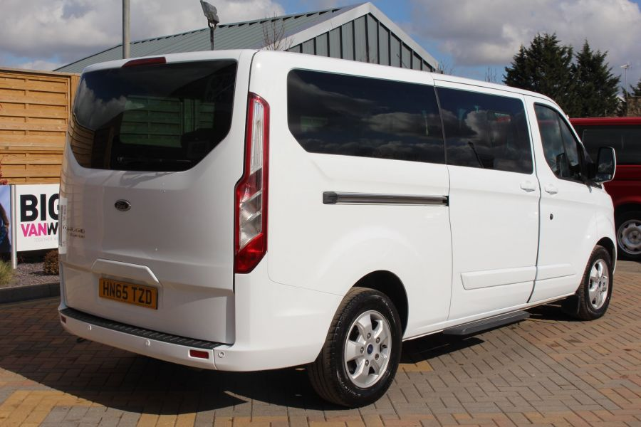 FORD TOURNEO CUSTOM 300 TDCI 125 L2 H1 LIMITED 9 SEAT MINIBUS SWB LOW ROOF FWD - 7215 - 5