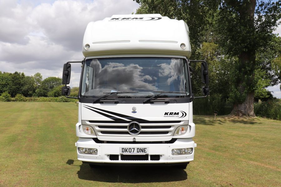 MERCEDES KRM MB1628 32FT 6 BERTH MOTORHOME / SPORTHOME  - 9783 - 10