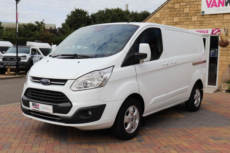 FORD TRANSIT CUSTOM 310 TDCI 130 L1H1 LIMITED SWB LOW ROOF - 10921 - 10