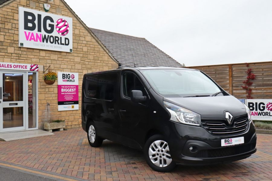 RENAULT TRAFIC SL27 DCI 120 SPORT ENERGY SWB LOW ROOF - 9856 - 1