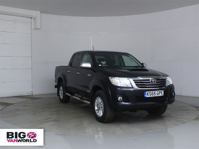 TOYOTA HI-LUX INVINCIBLE 4X4 D-4D 169 DOUBLE CAB WITH ROLL'N'LOCK TOP - 7308 - 1