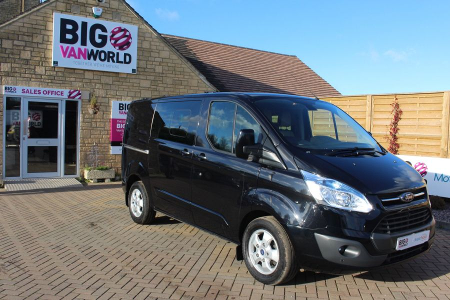 FORD TRANSIT CUSTOM 290 TDCI 155 L1 H1 LIMITED DOUBLE CAB 6 SEAT CREW VAN SWB LOW ROOF FWD - 7026 - 2