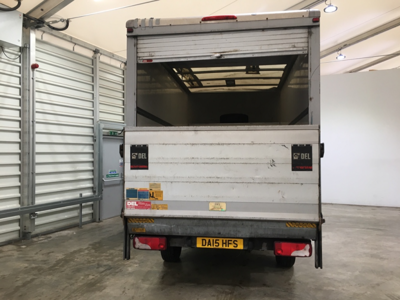 MERCEDES SPRINTER 313 CDI 129 LWB LUTON WITH TAIL LIFT - 10752 - 4