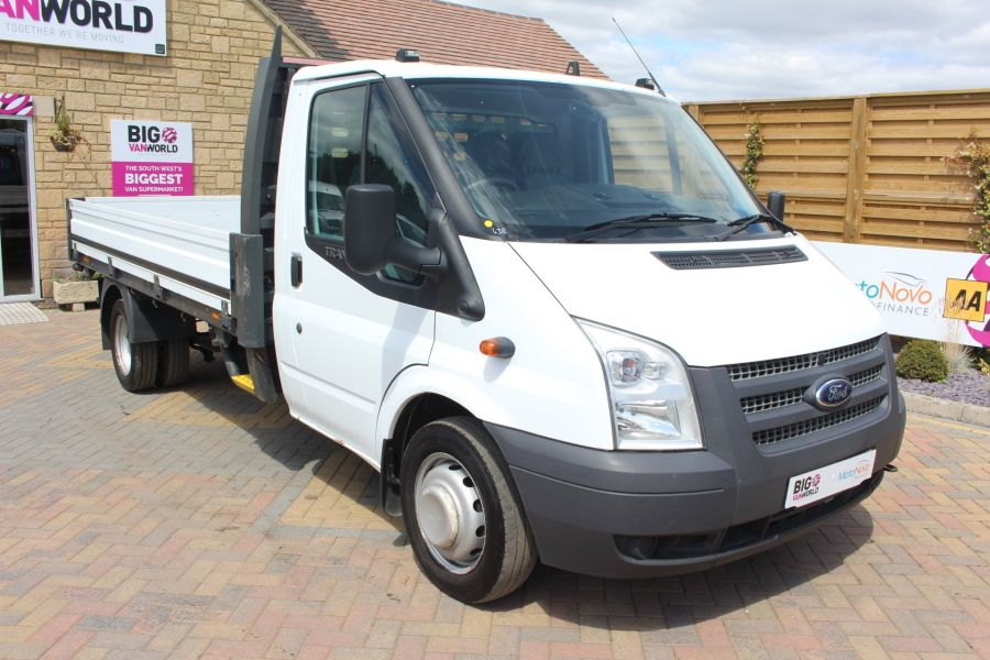 FORD TRANSIT 350 TDCI 155 LWB SINGLE CAB 'ONE STOP' 12FT 6IN ALLOY DROPSIDE RWD - 6220 - 3