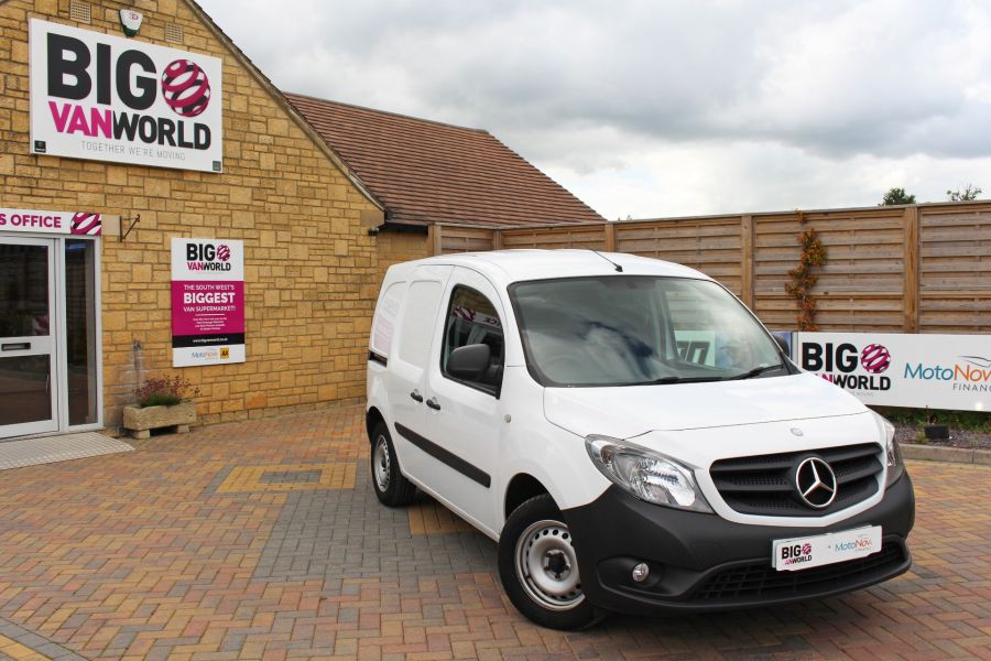 MERCEDES CITAN 109 CDI 90 LWB LOW ROOF - 9392 - 1