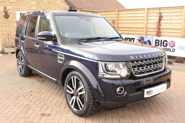 Used LAND ROVER DISCOVERY 4 in Used Vans Swindon for sale