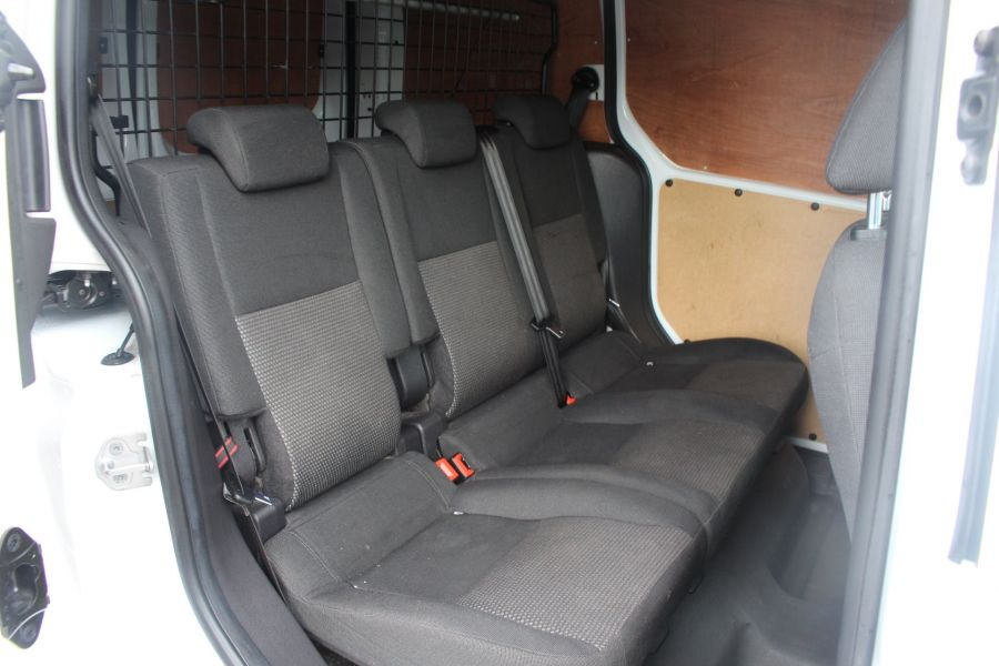FORD TRANSIT CONNECT 220 TDCI 75 L1 H1 DOUBLE CAB 5 SEAT CREW VAN - 7182 - 19
