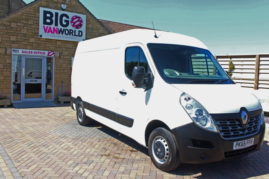 RENAULT MASTER MM35 DCI 110 BUSINESS ENERGY MWB MEDIUM ROOF FWD - 9086 - 2