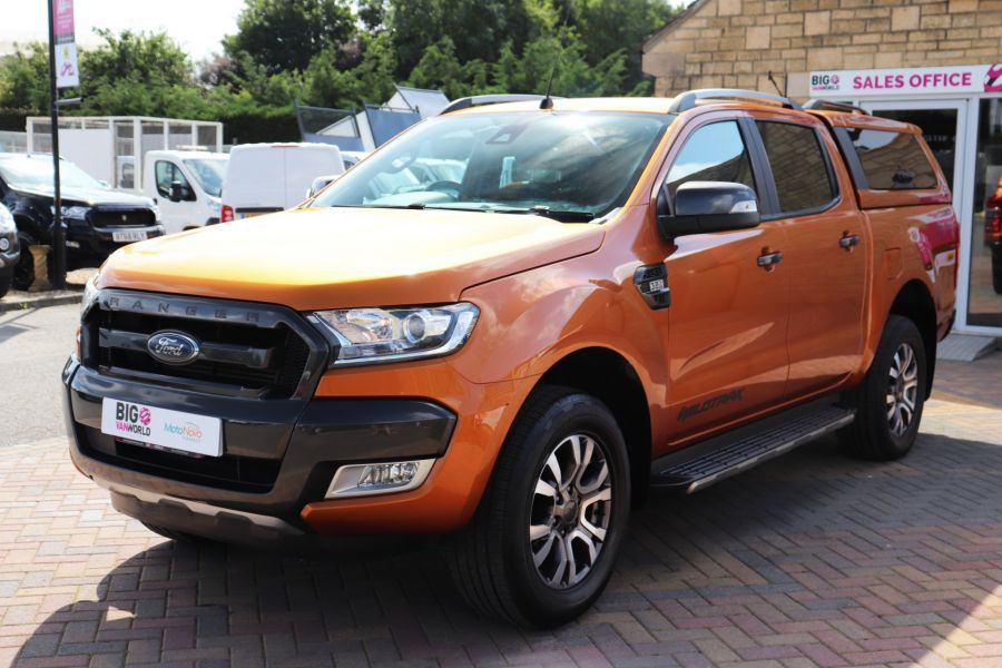 FORD RANGER WILDTRAK TDCI 200 4X4 DOUBLE CAB WITH TRUCKMAN TOP - 9538 - 9