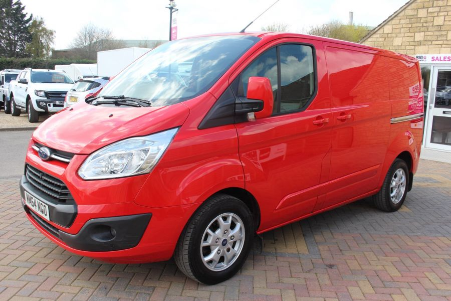 FORD TRANSIT CUSTOM 290 TDCI 125 L1 H1 LIMITED SWB LOW ROOF FWD - 9115 - 8