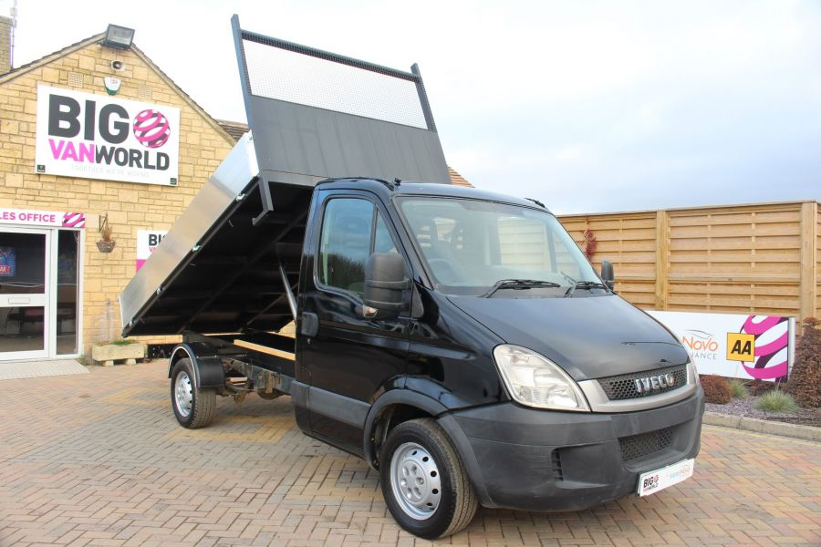 IVECO DAILY 35S13 SINGLE CAB ALLOY TIPPER - 5432 - 3