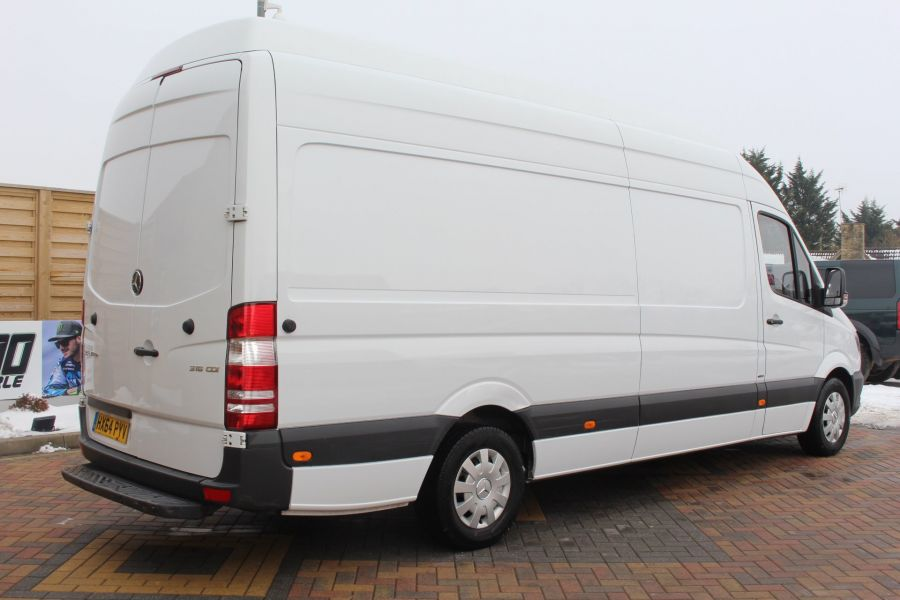MERCEDES SPRINTER 316 CDI 163 BHP LWB SUPER HIGH ROOF - 7351 - 5
