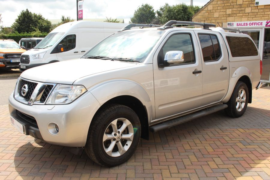NISSAN NAVARA DCI 190 TEKNA CONNECT 4X4 DOUBLE CAB AUTO WITH TRUCKMAN TOP - 5975 - 8