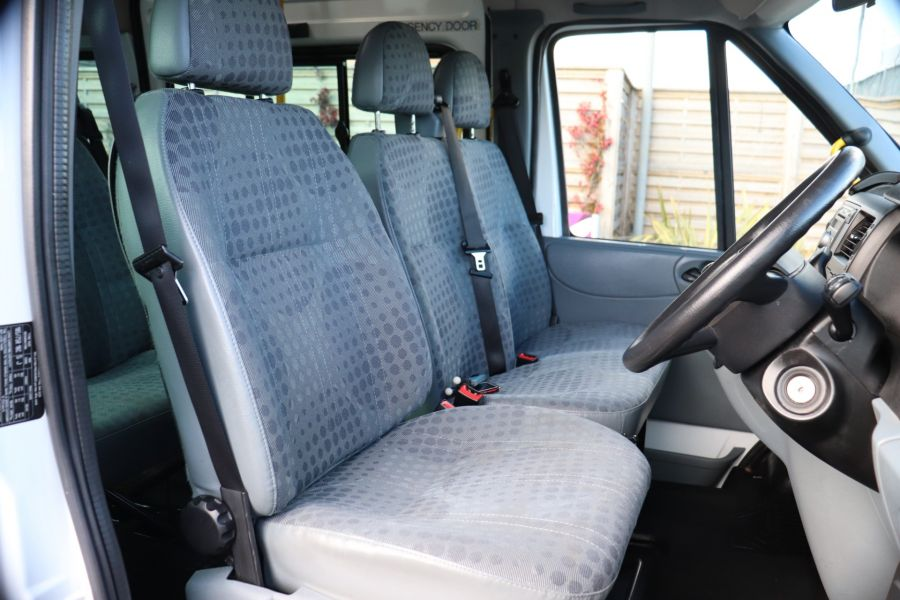FORD TRANSIT 430 TDCI 135 EL LWB 17 SEAT BUS HIGH ROOF WITH WHEELCHAIR ACCESS RAMP DRW RWD - 10401 - 13