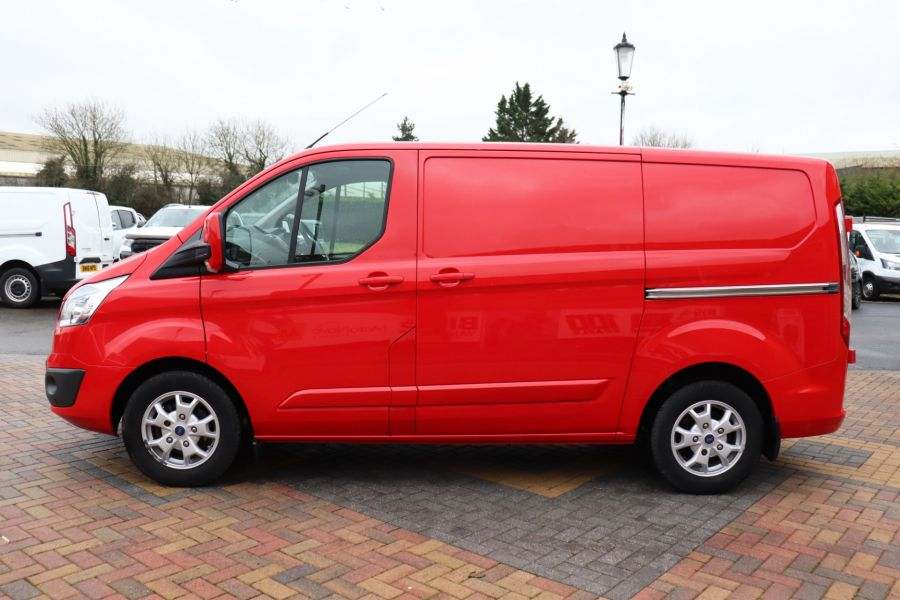 FORD TRANSIT CUSTOM 290 TDCI 125 L1H1 LIMITED SWB LOW ROOF FWD - 12045 - 11