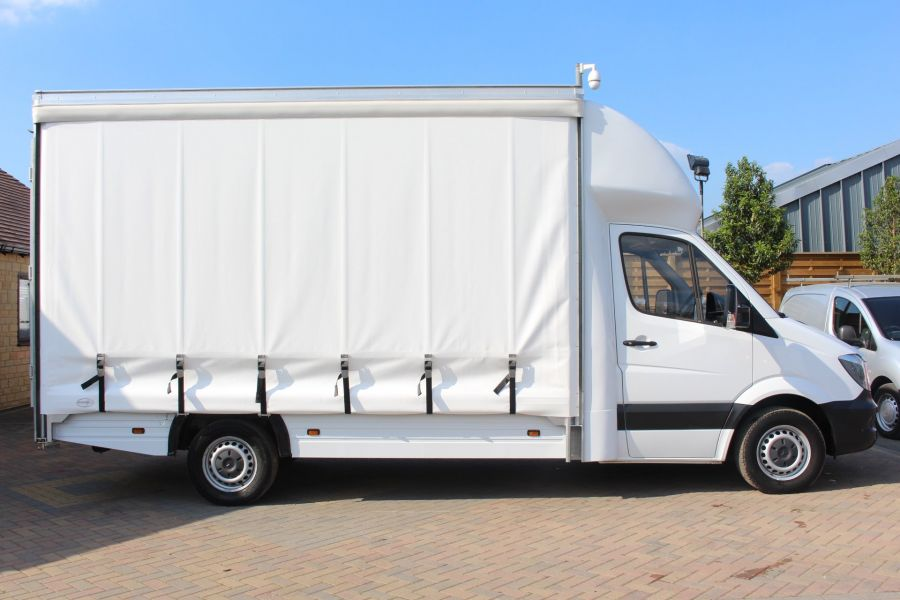 MERCEDES SPRINTER 313 CDI LWB CURTAIN SIDE BOX VAN - 6902 - 3