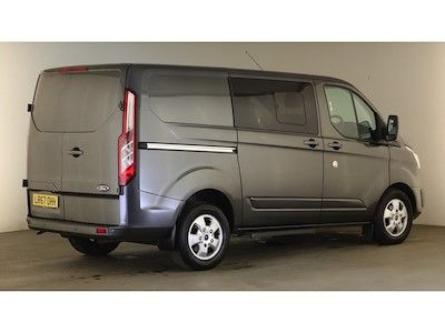 FORD TRANSIT CUSTOM 290 TDCI 170 L1H1 LIMITED DOUBLE CAB 5 SEAT CREW VAN SWB LOW ROOF - 12600 - 4