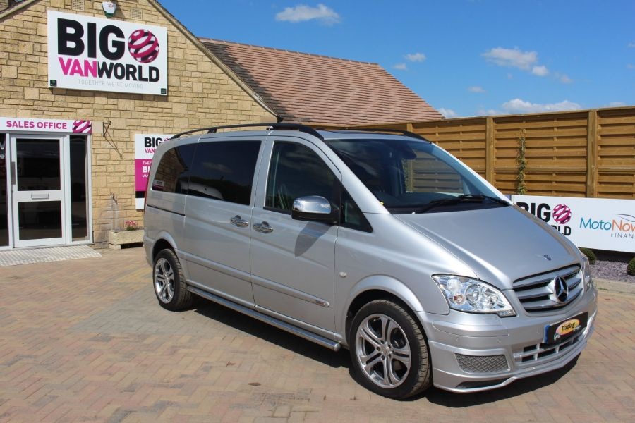 MERCEDES VITO 122 CDI SPORT-X DUALINER COMPACT 224 BHP SPECIAL EDITION - 6109 - 2