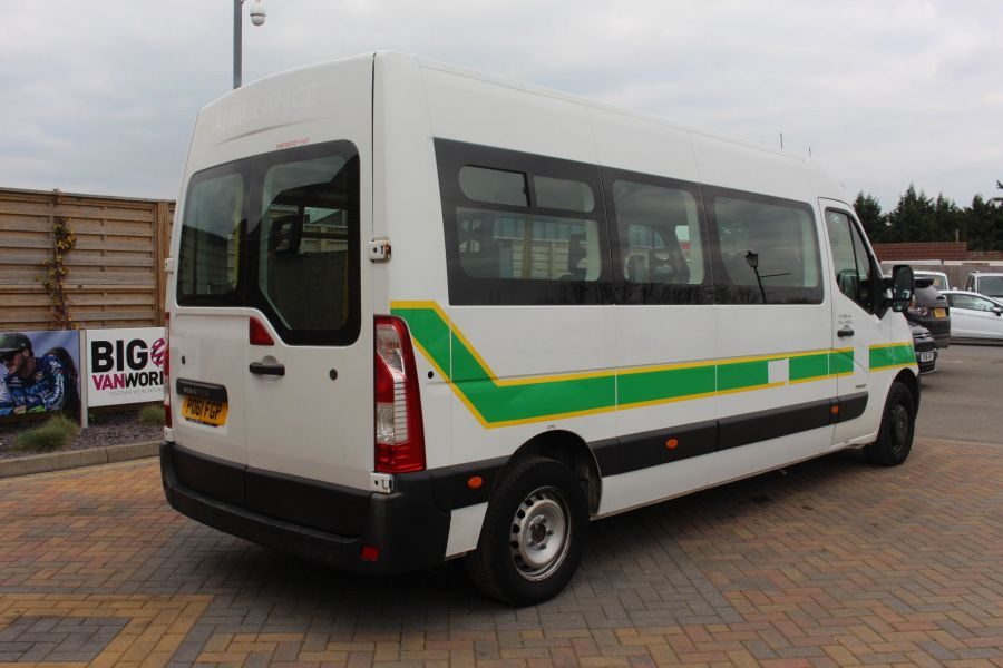 RENAULT TRUCKS MASTER LM35 DCI 100 L3 H2 9 SEAT PASSENGER TRANSPORT BUS AMBULANCE WITH WEELCHAIR ACCESS LWB MEDIUM ROOF - 9139 - 4