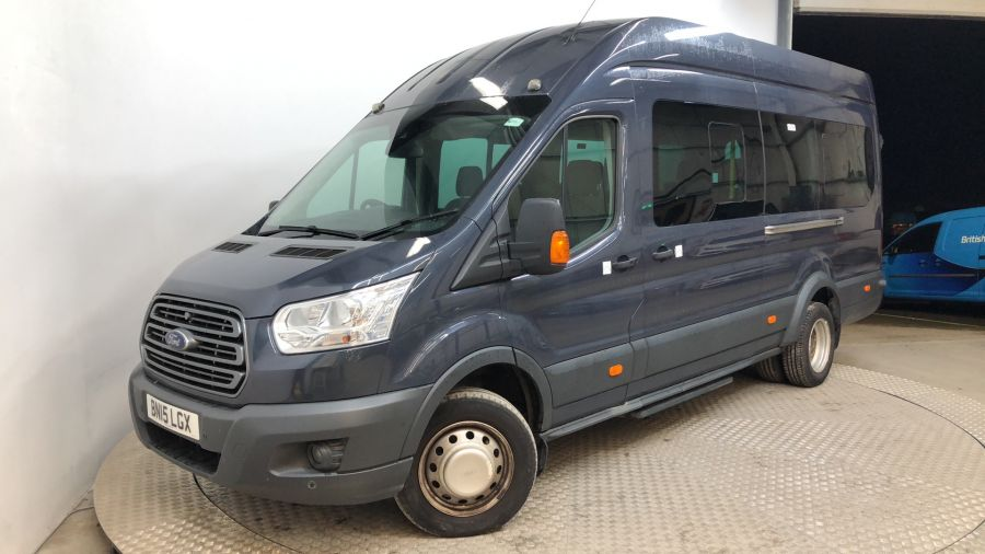 FORD TRANSIT 460 TDCI 155 L4H3 TREND 17 SEAT BUS HIGH ROOF DRW RWD - 11705 - 1
