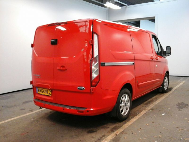 FORD TRANSIT CUSTOM 290 TDCI 125 L1 H1 LIMITED SWB LOW ROOF FWD - 8945 - 2